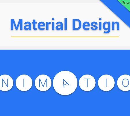 Material Design Animation